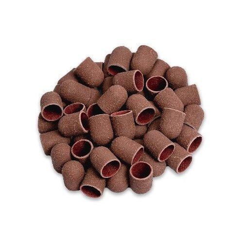 Колпачок Muhle Manikure шлифовальный тонкий 13 мм, 320 грит, 12000 об/мин, 100 шт., коричневый muhle manikure колпачок шлифовальный 13 мм тонкий 100 шт