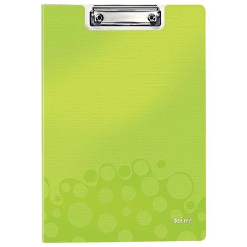 Купить Leitz Папка-планшет с верхним прижимом WOW A4, полифом зеленый, Файлы и папки
