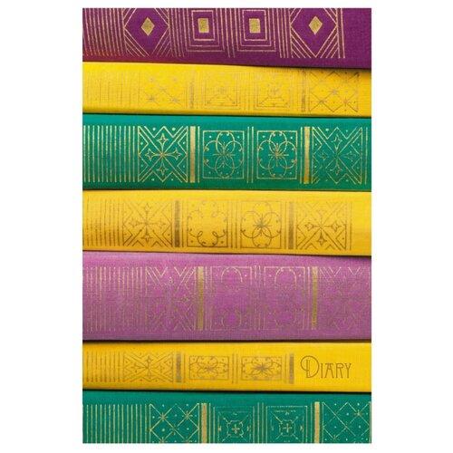 Ежедневник Listoff Книжная коллекция недатированный, А5, 152 листов, разноцветный фото