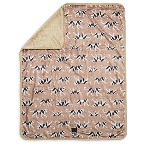 Купить Плед Elodie Velvet White Tiger Warm Sand 75х100 см White Tiger Warm Sand, Покрывала, подушки, одеяла