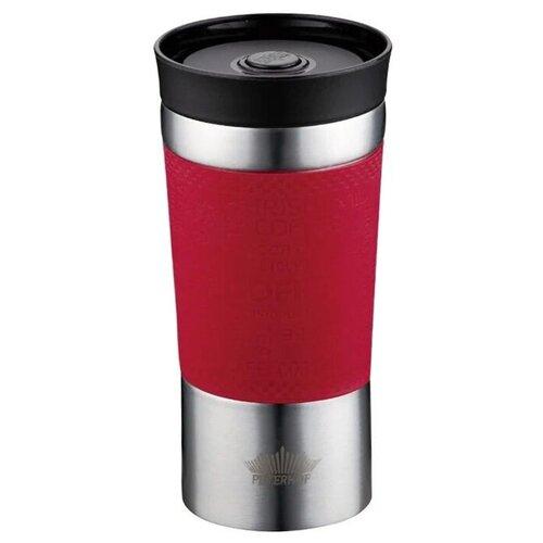 Термокружка Peterhof Travel Mug PH-12438, 0.38 л красный