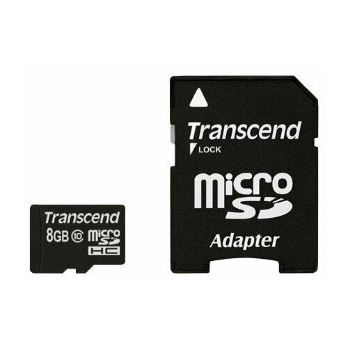 Фото - Карта памяти Transcend TS8GUSDHC10 карта памяти
