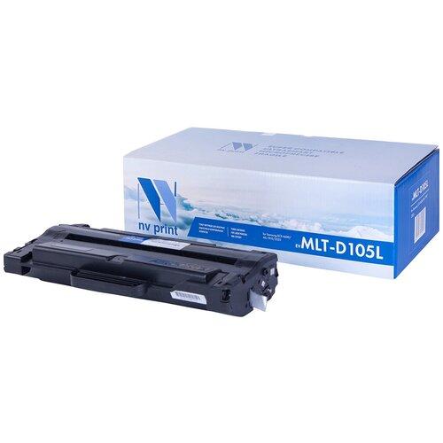 Фото - Картридж NV Print MLT-D105L для Samsung, совместимый nv print nv mlt d203u для samsung proxpress m4020nd m4070fr 15000k