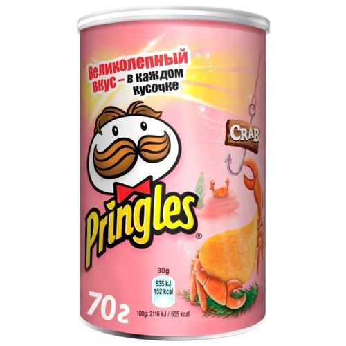 Чипсы Pringles картофельные Crab, 70 г чипсы pringles картофельные crab 70 г