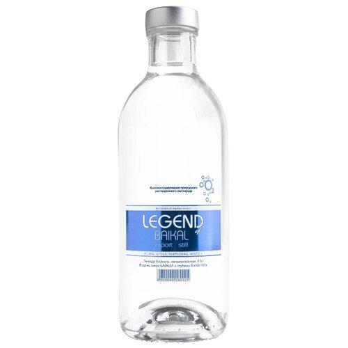 Вода питьевая глубинная Legend of Baikal негазированная, стекло, 0.5 л по цене 920