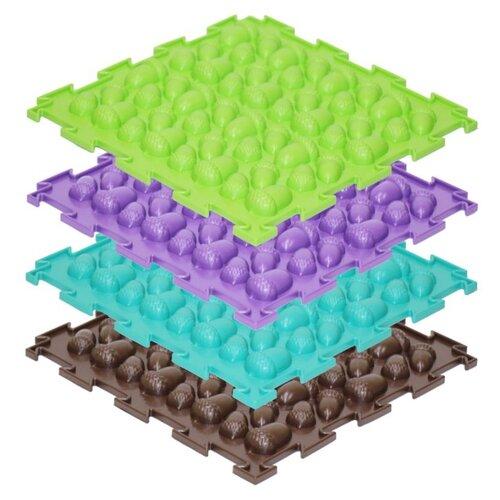 Купить Модульный коврик Ортодон. Желуди (жесткий), ПластФактор, Игровые коврики