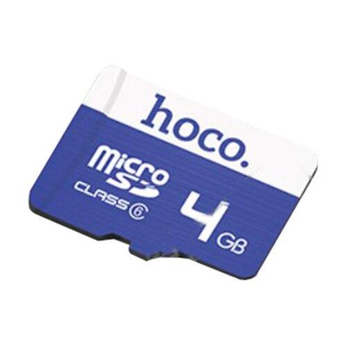 Фото - Карта памяти Hoco Micro SD 4GB синяя карта памяти hoco micro sd 4gb синяя