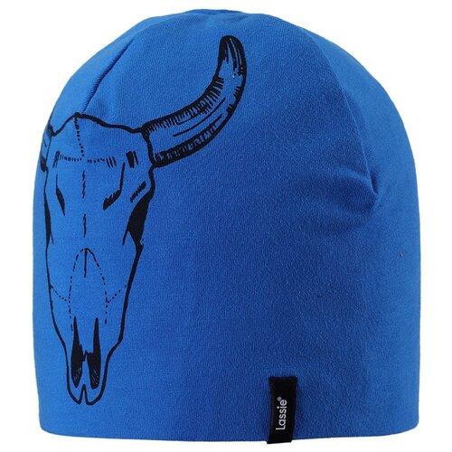 Купить Шапка Lassie размер S/003, 6610 синий, Головные уборы