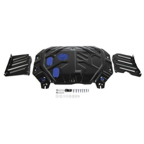Защита картера двигателя и коробки передач RIVAL 111.2845.1 для Kia