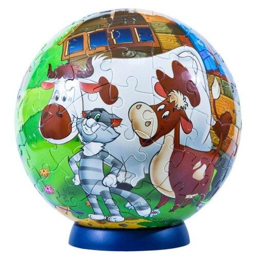 3D-пазл Step puzzle StepBall Союзмультфильм Простоквашино (98136), 108 дет.
