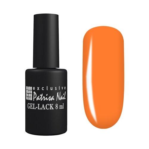 Гель-лак для ногтей Patrisa Nail Авангард, 8 мл, 370 неоновый оранжевый