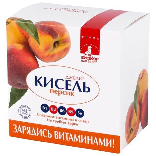 Кисель Биокор Джели+ Персик 5 шт. по 25 г