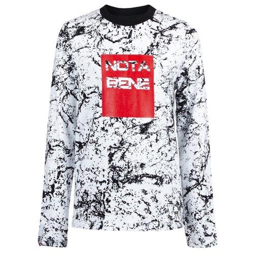 Купить Лонгслив Nota Bene размер 134, белый, Футболки и майки