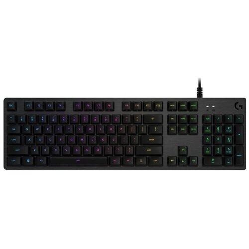 Игровая клавиатура Logitech G G512 Carbon GX Blue Switch Black USB Logitech GX Blue