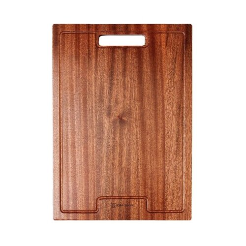 Разделочная доска OMOIKIRI 4999005 CB-01-WOOD 30x43 см для кухонной мойки коричневый