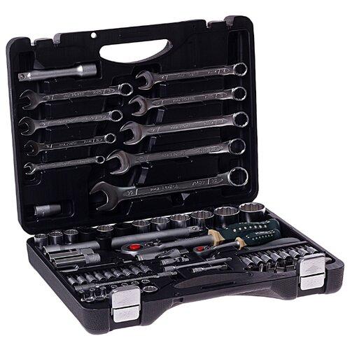 цена на Набор автомобильных инструментов Rock FORCE (82 предм.) 4821-9 черный