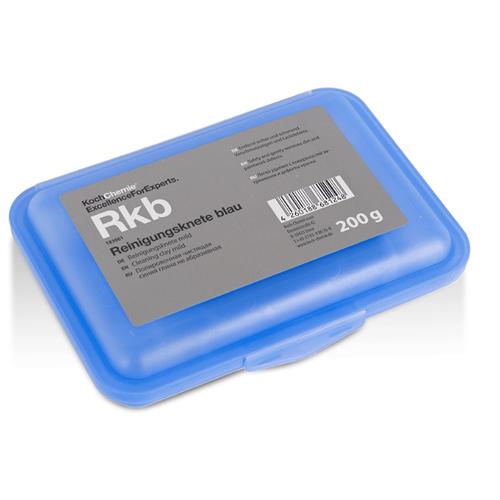 Неабразивная глина Koch Chemie полировочная синяя Reinigungsknete blau, 0.2 кг кинетическая глина 1toy кинетическая глина синяя 230г т11356
