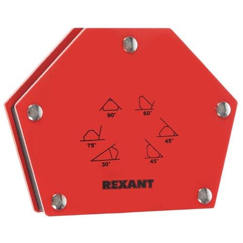 Магнитный угольник REXANT 12-4832 красный магнитный угольник start sm1603 75 lbs красный