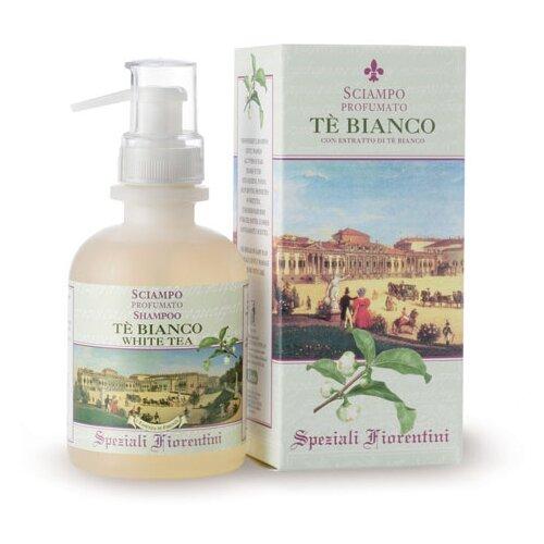Derbe шампунь Sciampo Te' Bianco белый чай (для мужчин и женщин) 250 мл с дозатором шампунь клеар для женщин