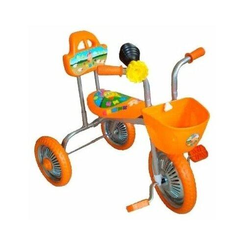 Купить Трехколесный велосипед Чижик T004, оранжевый, Трехколесные велосипеды