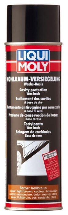 Антикор LIQUI MOLY для пустот кузова воск Hohlraum-Versiegelung hellbraun