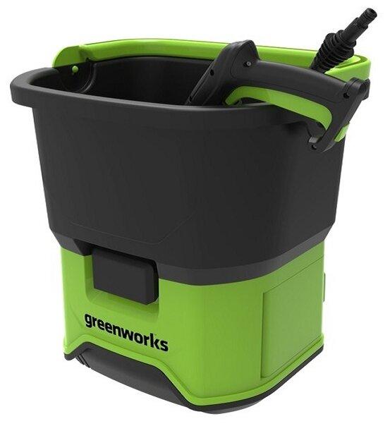 Мойка высокого давления greenworks GDC40 0.65 кВт