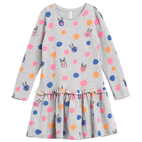 Платье COCCODRILLO размер 122, серый