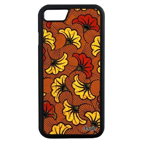 Чехол для Айфона 7 уникальный дизайн Африканский принт Цветы Цветочный