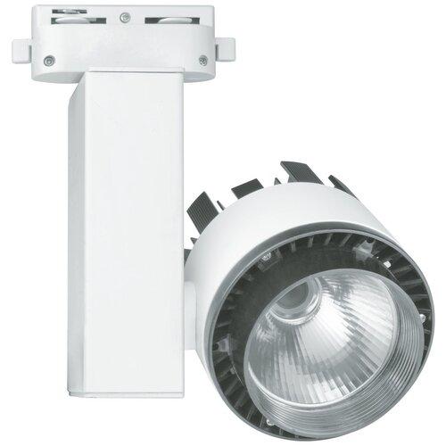 Трековый светильник-спот Uniel ULB-Q250 20W-NW-A WHITE