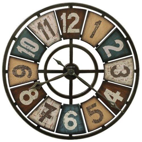 Часы настенные кварцевые Howard Miller Prairie Ridge разноцветный