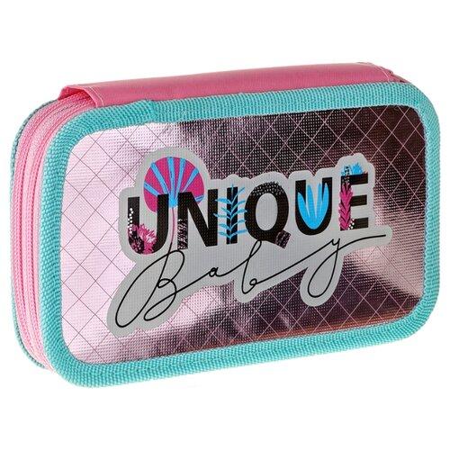 Купить ArtSpace Пенал Unique baby (ПК2_29100) розовый/голубой, Пеналы