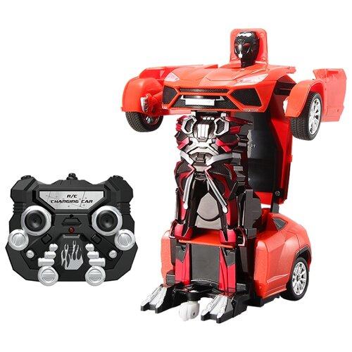 Купить Робот-трансформер Jia Qi Troopers Pioneer красный, Роботы и трансформеры