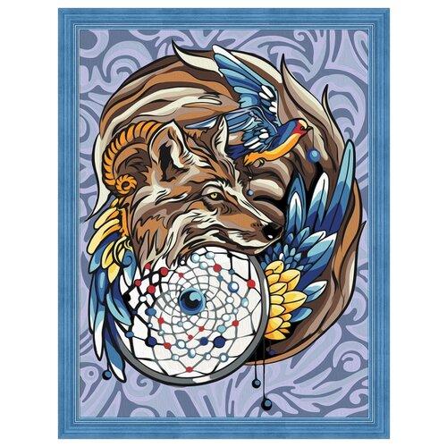 Купить Алмазная живопись Набор алмазной вышивки Волшебный амулет (АЖ-1592) 30x40 см, Алмазная вышивка