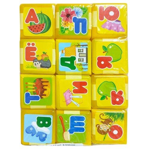 Кубики Green Plast Азбука АЗБ012 кубики 9шт азбука