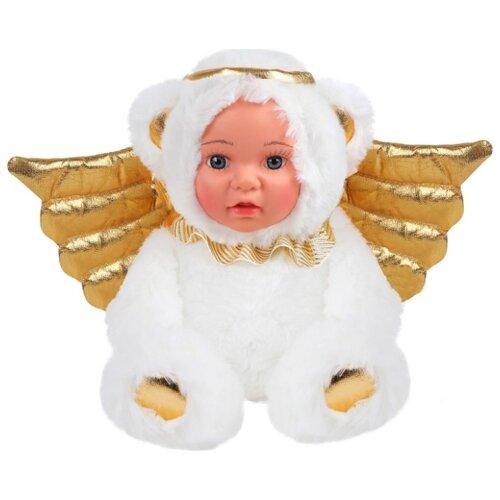 Мягкая игрушка Fluffy Family Мой мишка ангелочек 20 см цена 2017