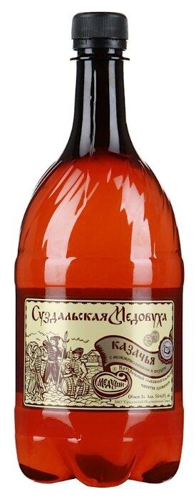 Медовуха Суздальская Медовуха Казачья с можжевельником и перцем 1 л
