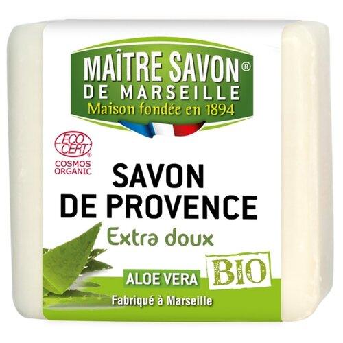 Мыло кусковое Maitre Savon de Marseille Алоэ Вера, 100 г цена 2017