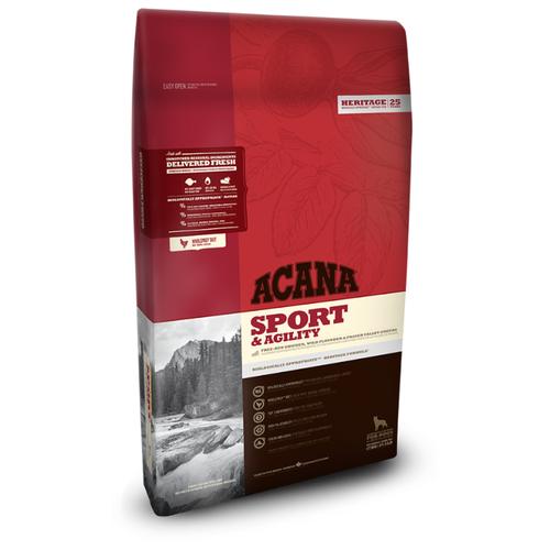 Сухой корм для собак Acana Heritage Sport & Agility для активных животных 17 кг термос bergner bg 7483 mm