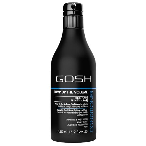 GOSH кондиционер Pump Up The Volume для объема волос, 450 мл