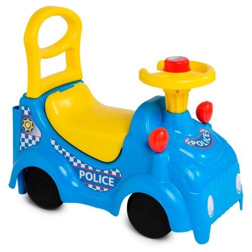 Купить Каталка-толокар ZEBRATOYS Полиция (15-5486) синий, Каталки и качалки