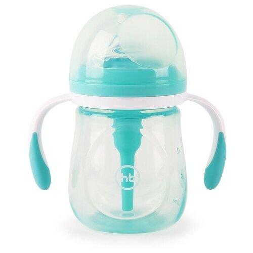Happy Baby Бутылочка антиколиковая 180 мл (10019), aqua happy baby бутылочка антиколиковая 180 мл 10019 mint