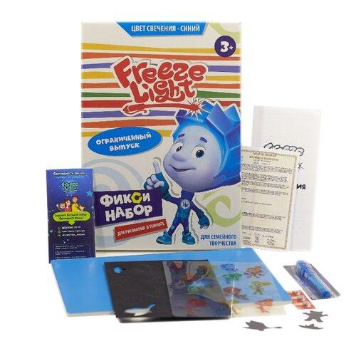 Планшет для рисования светом детский Freeze Light А4 Фиксики Синий планшет а4 синий