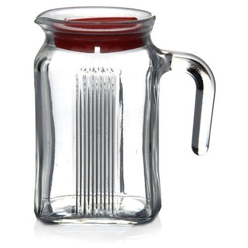 Кувшин Pasabahce Frigo 0.6 л прозрачный/красный