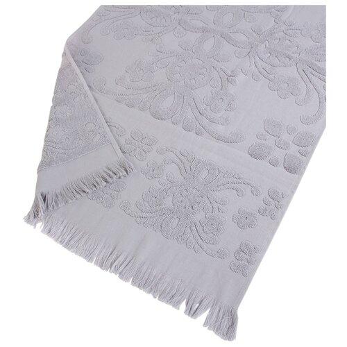 Arya Полотенце с бахромой Isabel Soft банное 70х140 см серый банное полотенце arya 70х140 см jewel