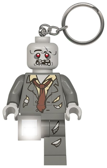 "Брелок-фонарик для ключей LEGO ""Zombie"""