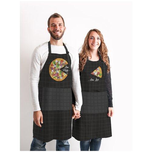 Комплект фартуки парные Пицца и Кусочек пиццы sfer.tex 1766434