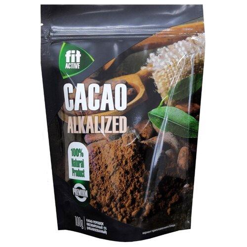 Fit Parad Fit Active Какао-порошок растворимый обезжиренный, пакет, 100 г