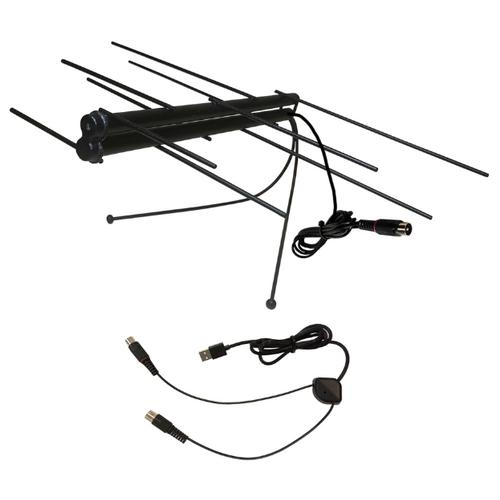 Фото - Комнатная цифровая активная направленная телевизионная антенна Триада-3308 с инжектором питания антенна триада т 3302