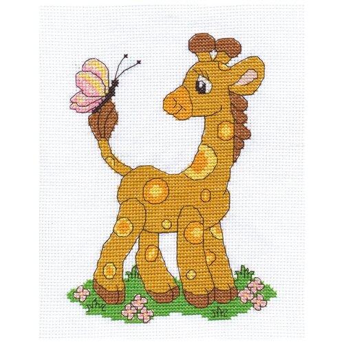 Klart Набор для вышивания Жирафик 16 х 22 см (8-004)