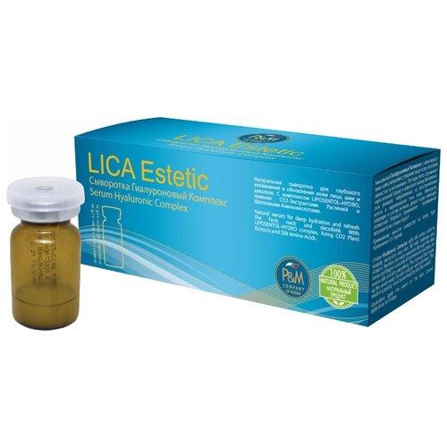Lica Estetic Сыворотка для лица Гиалуроновый Комплекс, 2 мл , 10 шт.